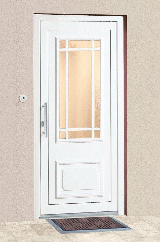 Kunststoff-Haustür »Monaco« in weiß