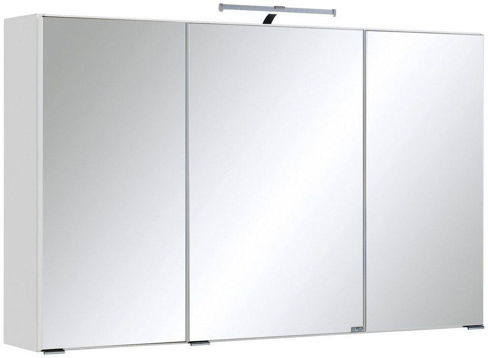 Spiegelschrank »Texas« Breite 100 cm, mit LED-Beleuchtung in weiß