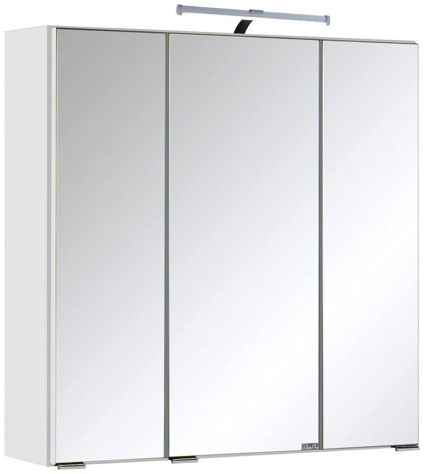 spiegelschrank texas breite 60 cm mit led beleuchtung online kaufen otto. Black Bedroom Furniture Sets. Home Design Ideas