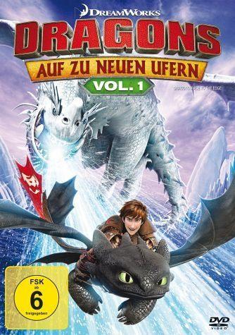 DVD »Dragons - Auf zu neuen Ufern Vol. 1«