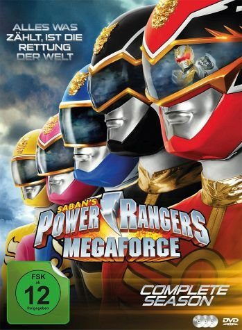 DVD »Power Rangers - Megaforce: Complete Season (3...«
