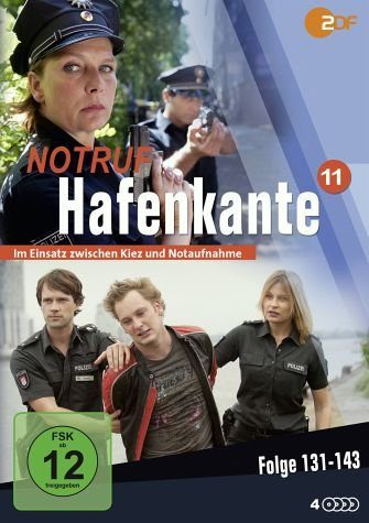 DVD »Notruf Hafenkante 11, Folge 131-143 (4 Discs)«