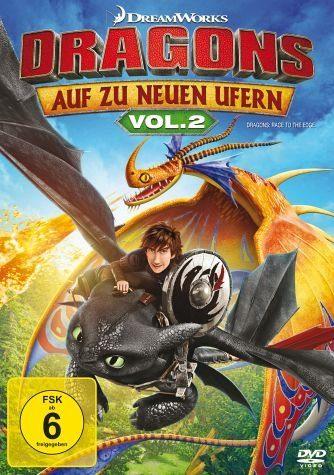 DVD »Dragons - Auf zu neuen Ufern Vol. 2«