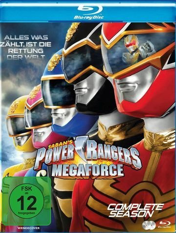 Blu-ray »Power Rangers - Megaforce: Complete Season (2...«