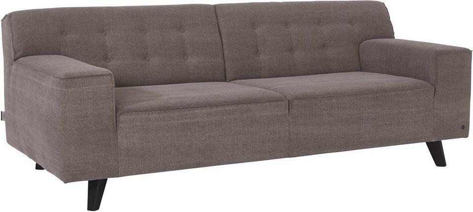 tom tailor 2 5 sitzer sofa nordic chic im retrolook f e wengefarben online kaufen otto. Black Bedroom Furniture Sets. Home Design Ideas