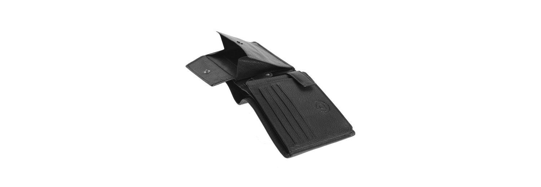 Bugatti Querformat Herren Geldbörse Leder 12,5 cm