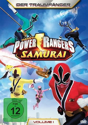 DVD »Power Rangers Samurai - Der Traumfänger, Vol. 1«