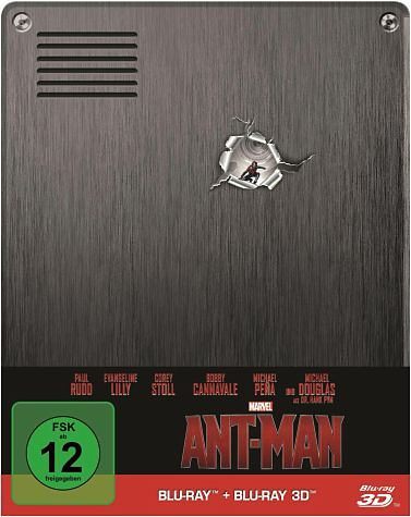Blu-ray »Ant-Man 3D + 2D Limited Edition Steelbook...«