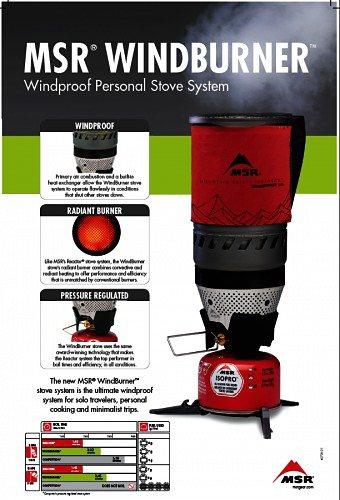 MSR Kocher »WindBurner? Persönliches Kochersystem« in red