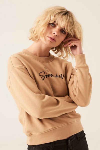 Garcia Sweater »I10060« mit Textprint