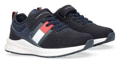 Tommy Hilfiger Sneaker mit Gummzug und Klettverschluss