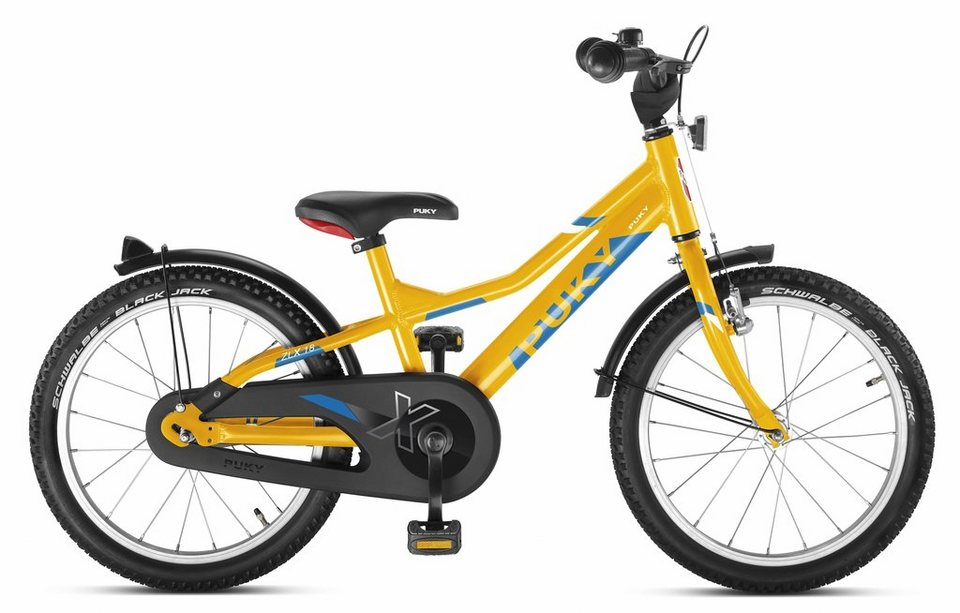 Puky Kinderrad »ZLX 18-1 Kinderfahrrad orange« in orange
