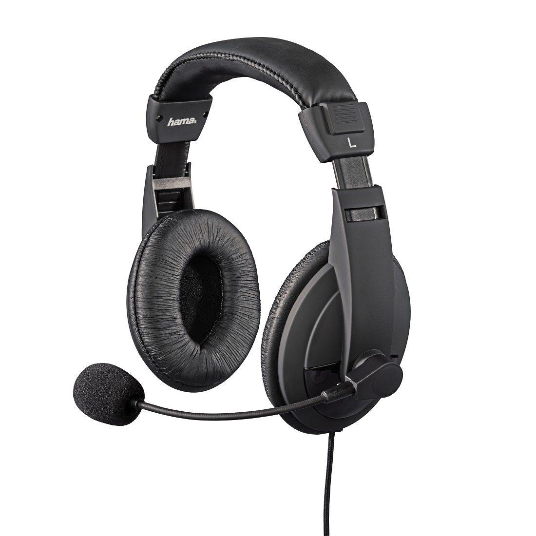 Hama Gaming Headset für PS4/PS4 Pro/PS4 Slim Over-Ear Overhead »Insomnia Coal Kopfhörer Klinke«