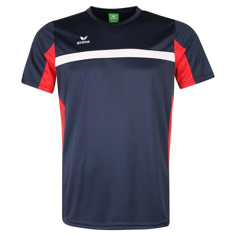 ERIMA 5-CUBES T-Shirt Herren in new navy/rot