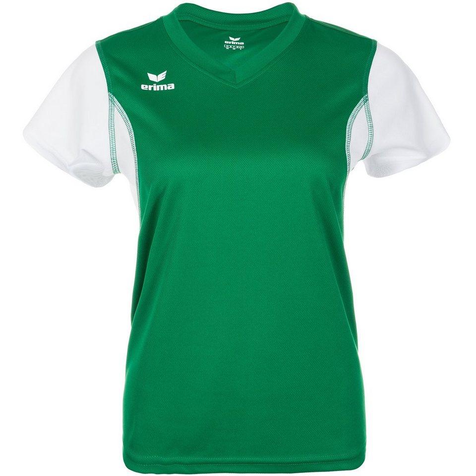 ERIMA T-Shirt Damen in smaragd/weiß