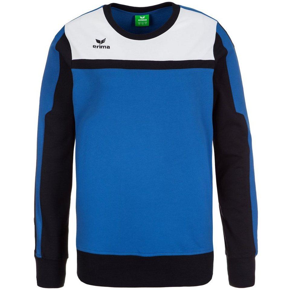 ERIMA 5-CUBES Sweatshirt Damen in blau/schwarz/weiß