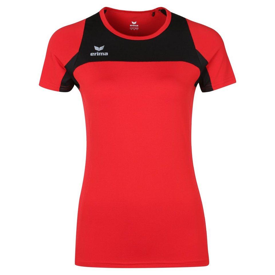 ERIMA Race Line Running T-Shirt Damen in rot/schwarz