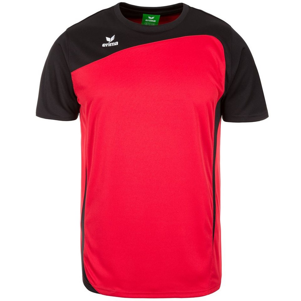 ERIMA CLUB 1900 T-Shirt Kinder in rot/schwarz