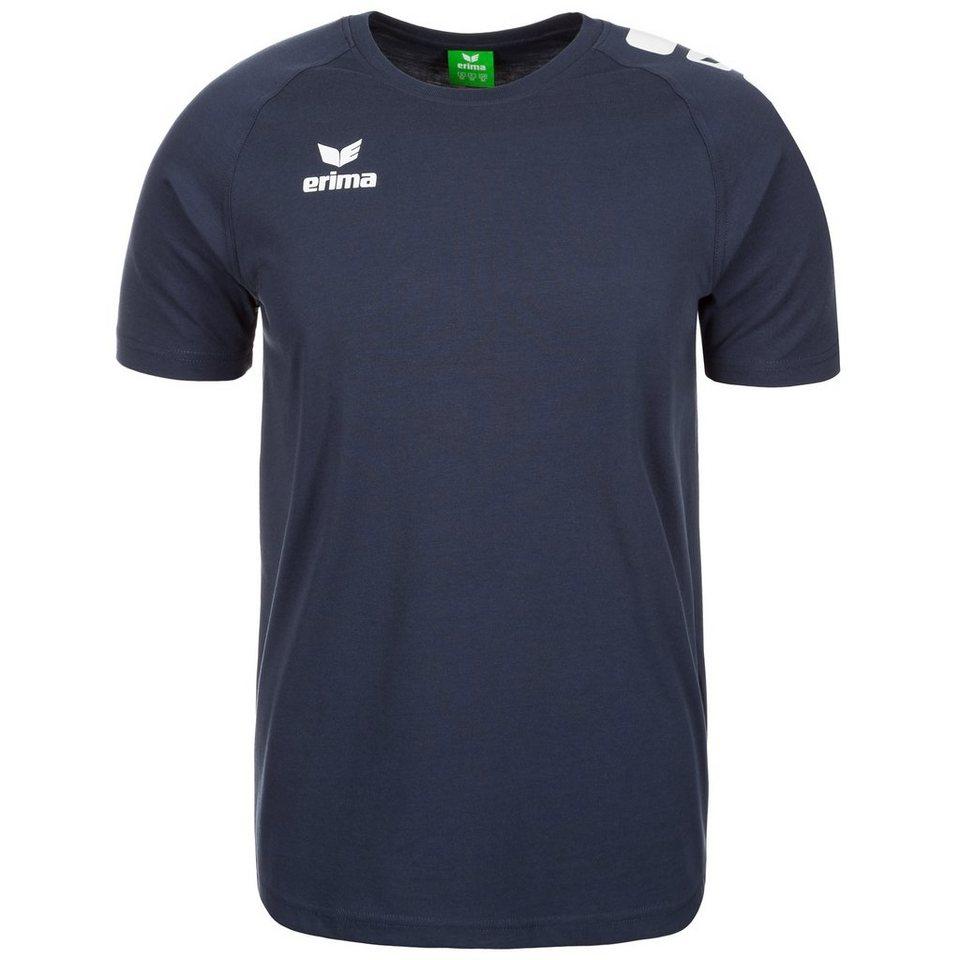 ERIMA 5-CUBES Promo T-Shirt Herren in new navy/weiß