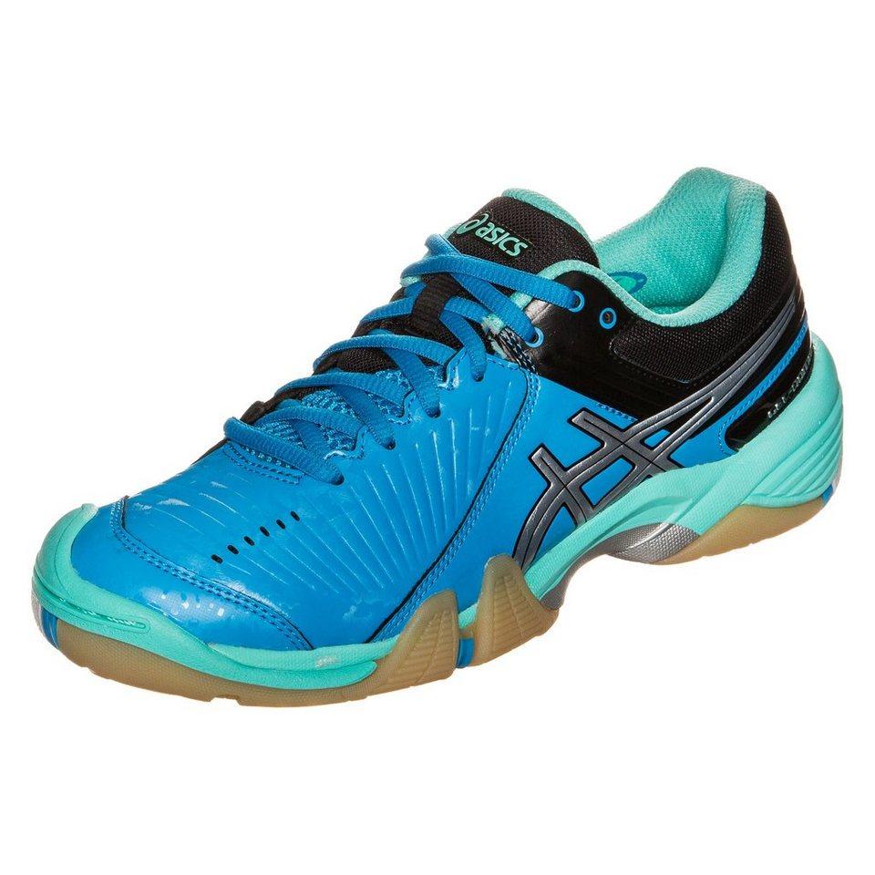 ASICS Gel-Domain 3 Handballschuh Damen in mint / silber / blau