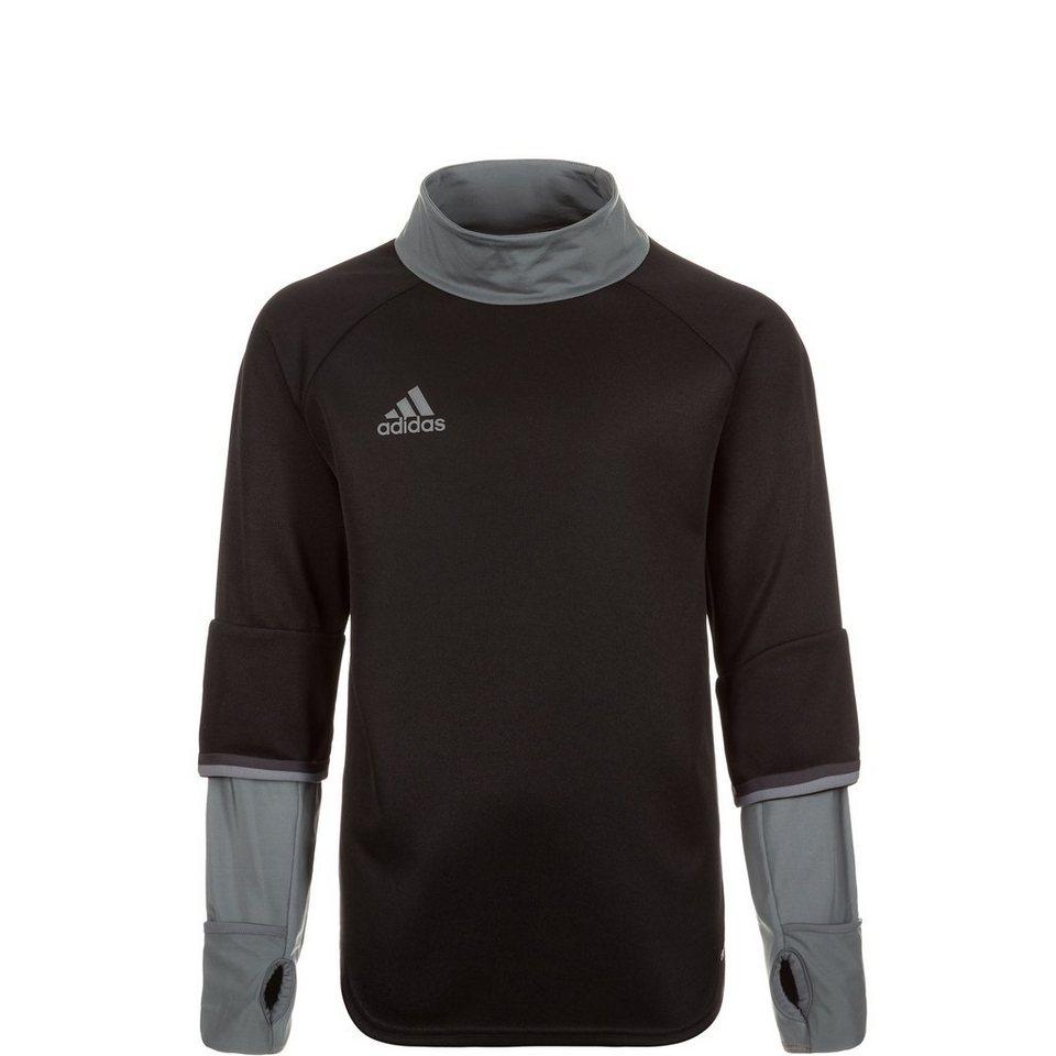 adidas Performance Condivo 16 Trainingssweat Kinder in schwarz / grau