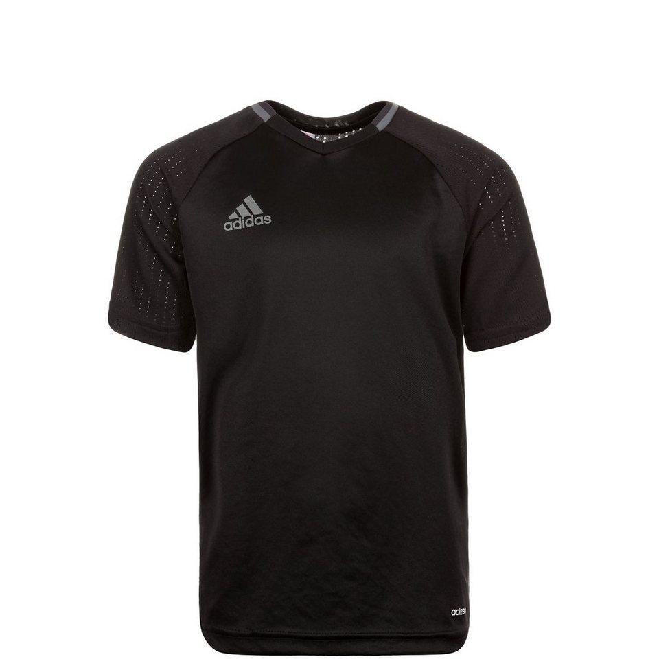 adidas Performance Condivo 16 Trainingsshirt Kinder in schwarz / grau
