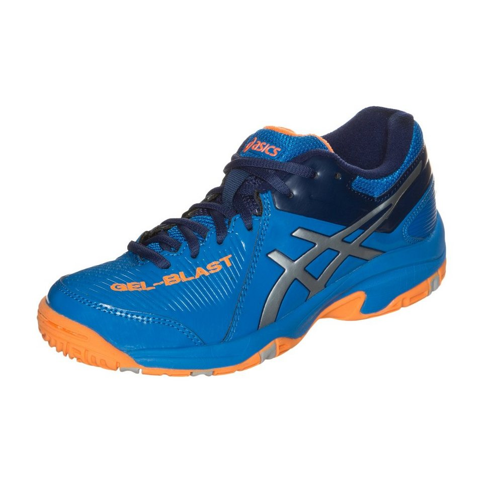 ASICS Gel-Blast 6 Handballschuh Kinder in blau / orange