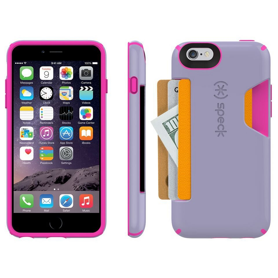 """Speck HardCase »CandyShell Card iPhone (6/6S) 4.7"""" Heather Purple/« in pink"""