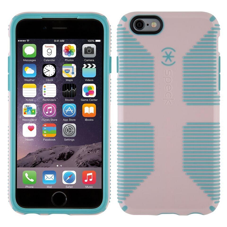 "Speck HardCase »CandyShell Grip iPhone (6/6S) 4.7"" Quartz Pink/Riv« in blau"