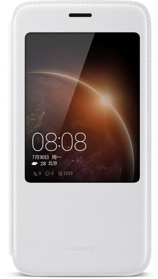 Huawei Handytasche »View Flip Cover für G8« in Weiß