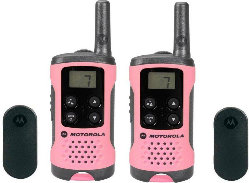 Motorola Funkgerät »TLKR T41« in Pink-Schwarz