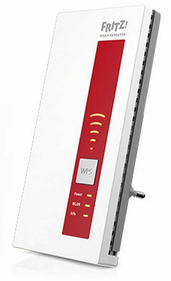 AVM Repeater »FRITZ!WLAN Repeater 1160« in Weiß-Rot