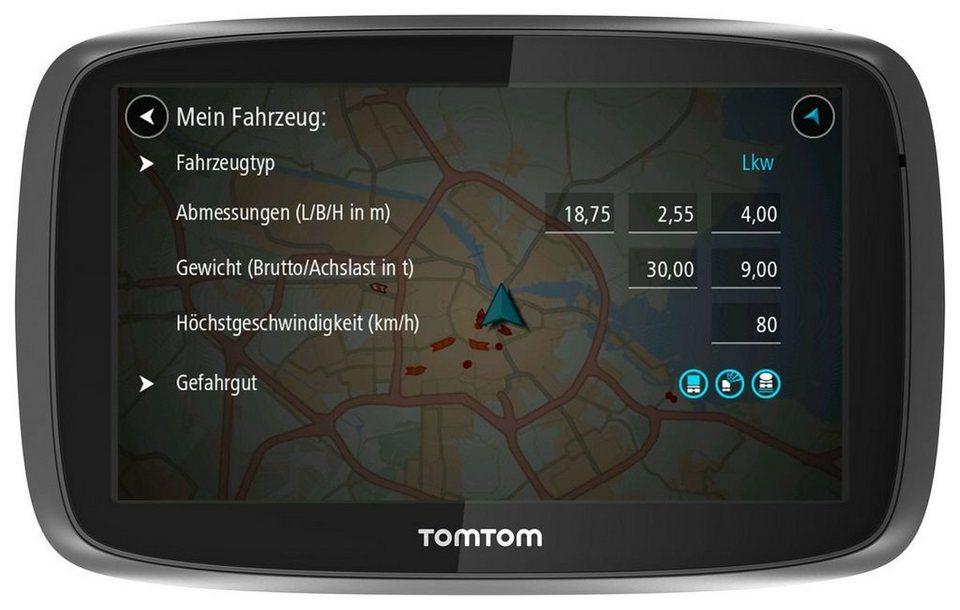 TomTom LKW-Navigationsgerät »TRUCKER 5000« in Schwarz