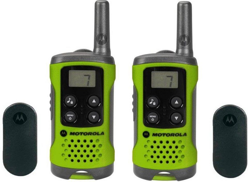 Motorola Funkgerät »TLKR T41« in Grün-Schwarz