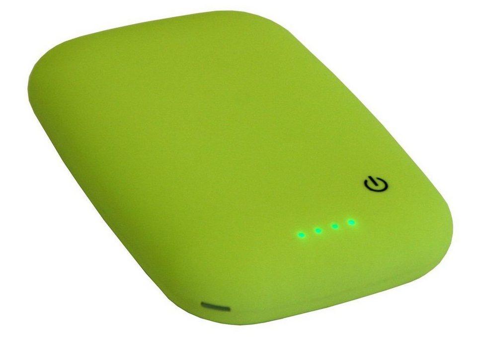 MAXFIELD Lader »Wireless Charging Powerbank 4.000« in Apfelgrün