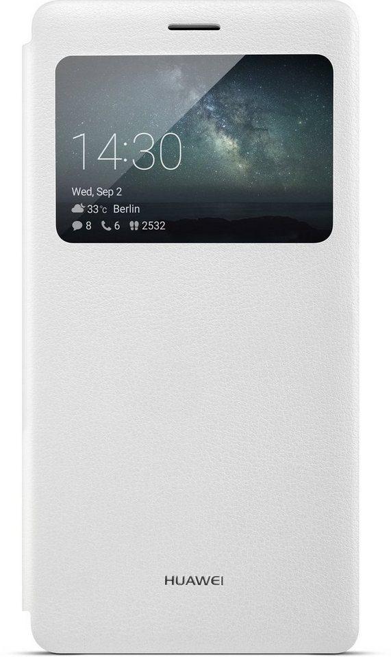 Huawei Handytasche »View Flip Cover für Mate S« in Weiß