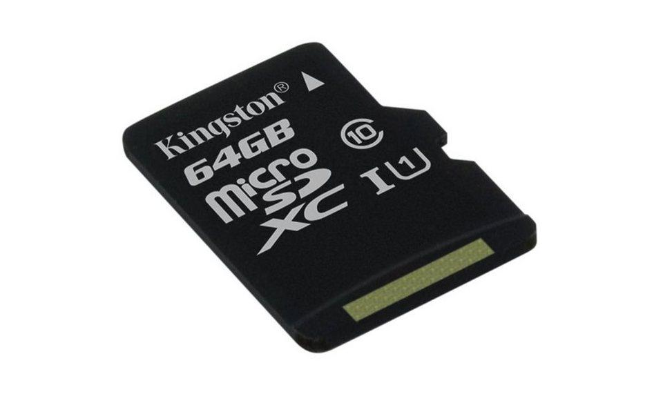 Kingston Speicherkarte »microSDHC Card Class 10 UHS-1 ohne Adapter« in Schwarz