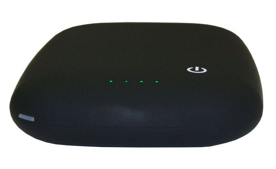MAXFIELD Lader »Wireless Charging Powerbank 4.000« in Schwarz