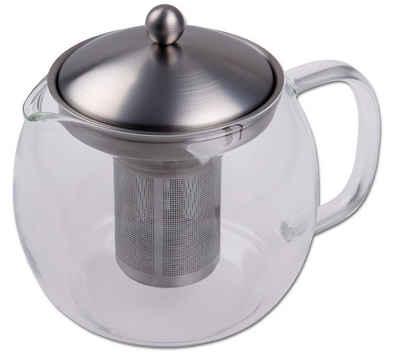 CHG Teekanne, 1 l, mit Filtereinsatz