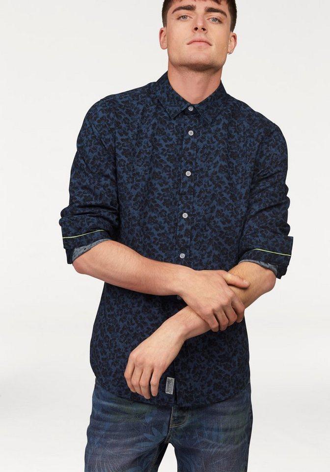 Bruno Banani Hemd in blau