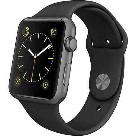 Apple Watch Sport 42mm mit Aluminiumgehäuse