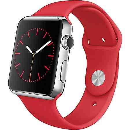 Apple Watch 42mm mit Edelstahlgehäuse