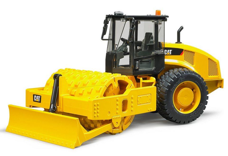 bruder® CAT Walzenzug Maßstab 1:16 in gelb