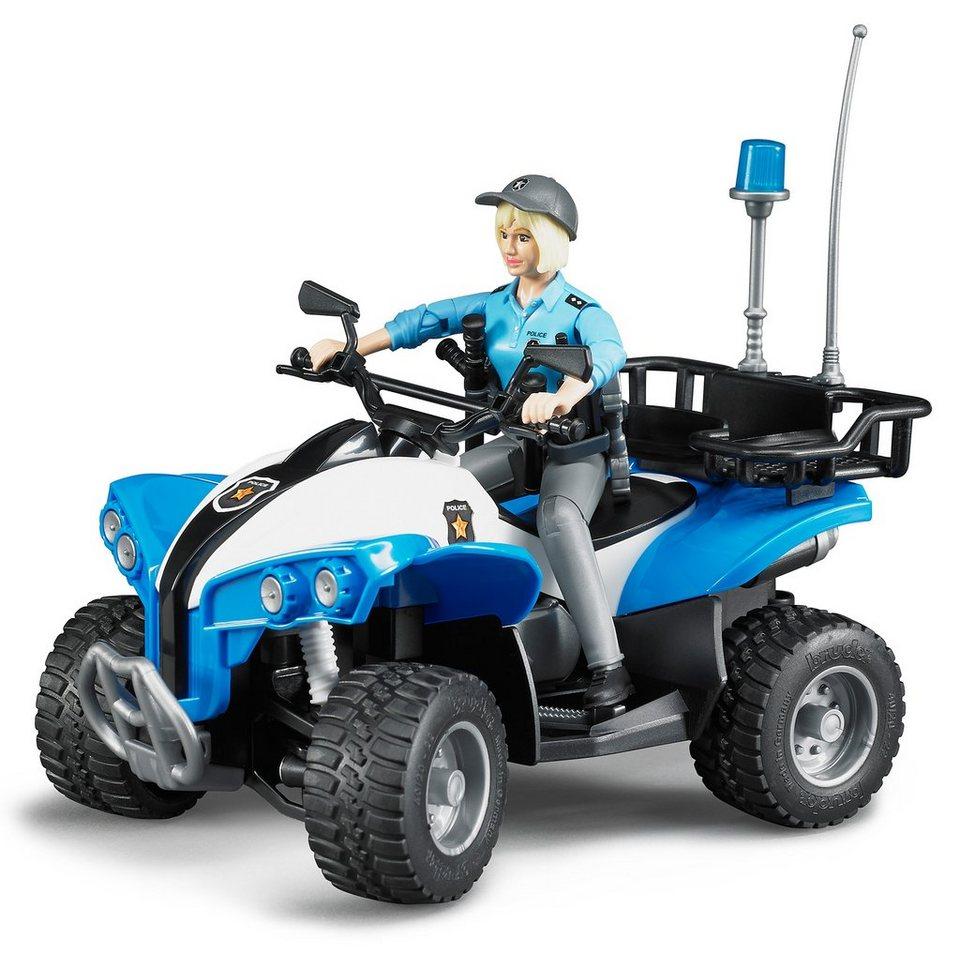 bruder® Polizei Quad mit Polizistin, »bworld« | OTTO