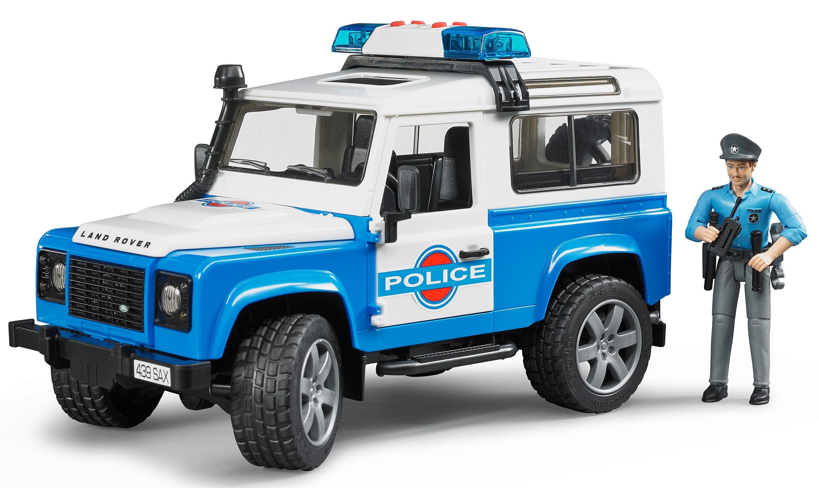 bruder® Polizeifahrzeug, »Land Rover Defender Station Wagon Polizeifahrzeug«