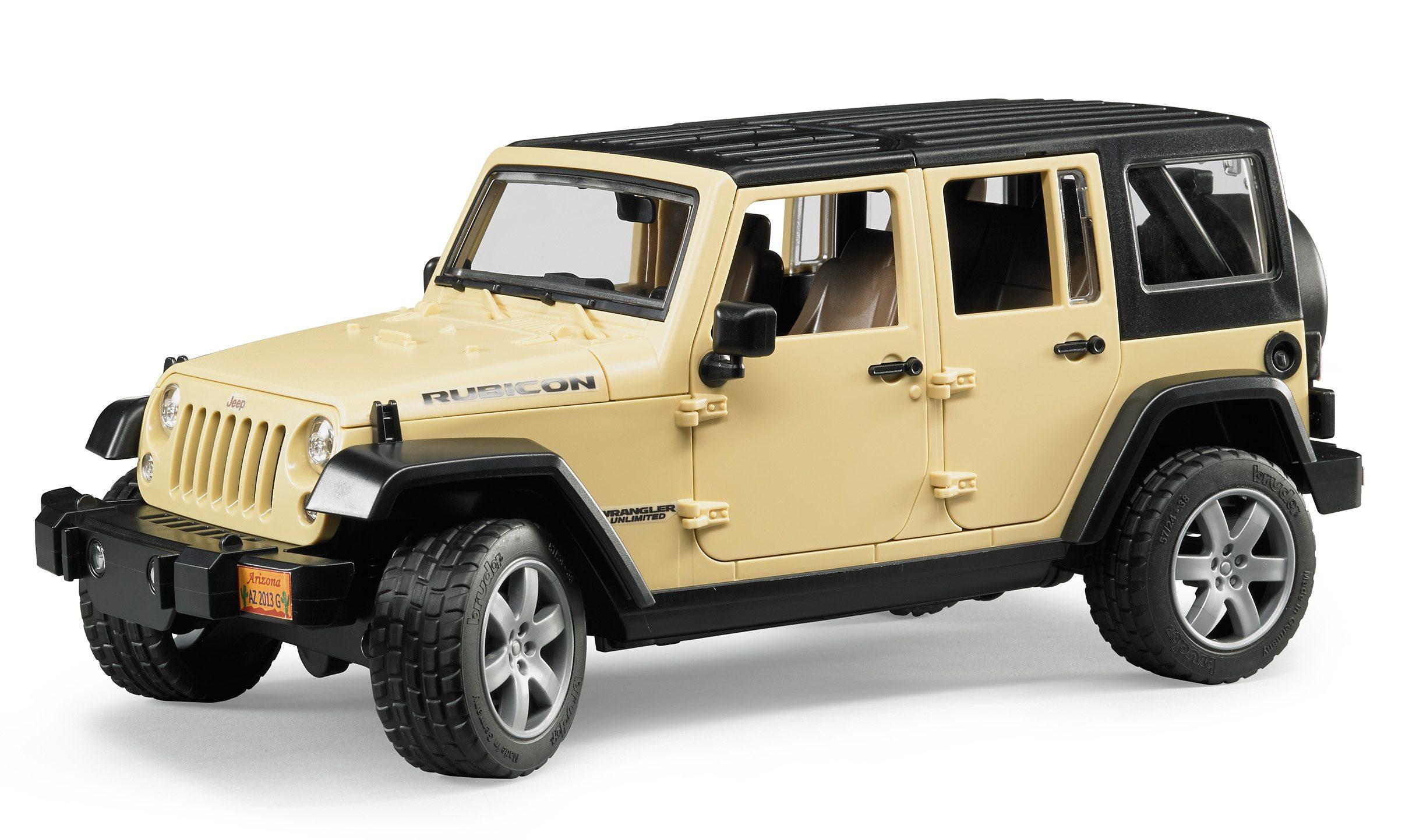 bruder® Geländewagen, »Jeep Wrangler Unlimited Rubicon«