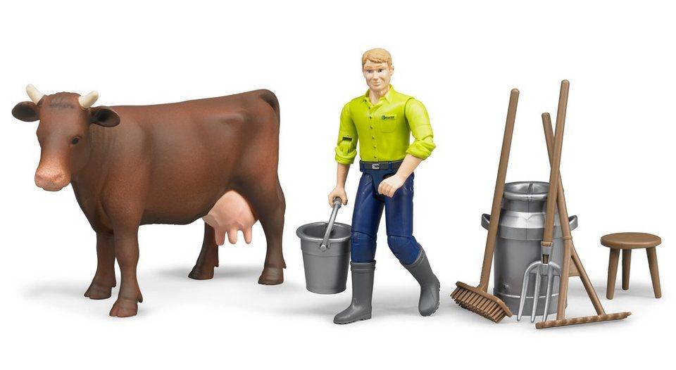 bruder® Spielfiguren 7-tlg., »Figurenset Landwirtschaft«