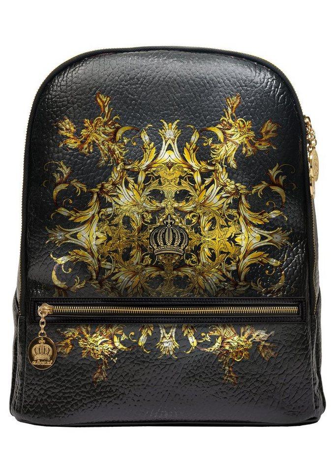 Glööckler® by Steinmann Rucksack mit Laptopfach, »Luxury« in schwarz