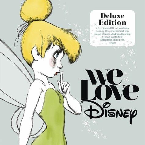 Audio CD »Various: We Love Disney (Deluxe Edition)«