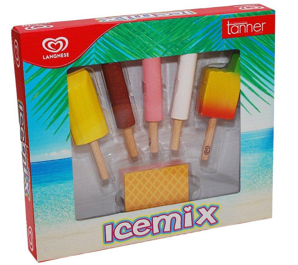 tanner, Kinder Spiellebensmittel 6 Teile, »LANGNESE Icemix«